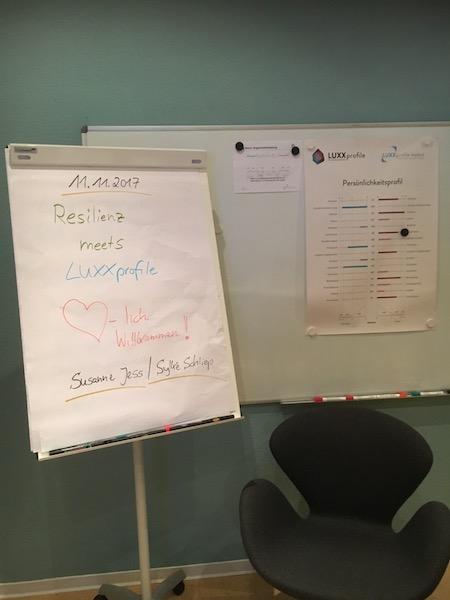 LUXXprofile Institut Seminar-Resilienz